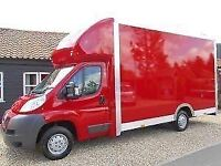 MAN AND VAN HOUSE REMOVALS PACKING SERVICES SPECIAL OFFER FOR INTERNATIONAL MOVES LARGE LUTON VAN