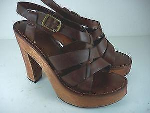 Wood Platform Women S Shoes Ebay