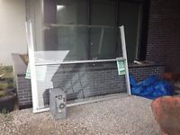 """Large Tempered glass sheet 72"""" x92"""" $100  OBO"""