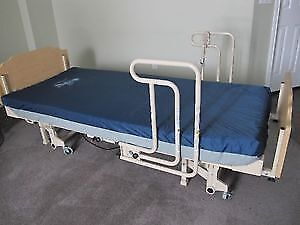 Full Electric Hospital bed has new remote control,No Mattress