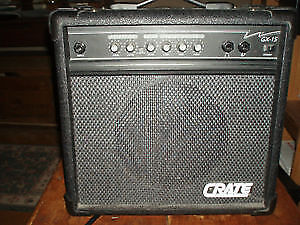 CRATE GX 15 PRACTISE AMP