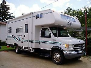 2002 - 23' Class C Motorhome for rent