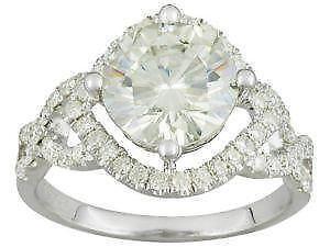 Moissanite Ring Ebay