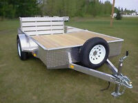 CHECK THIS OUT! - 2014 Aluminum Trailer 6.4' x 10'