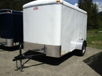 6x12 & 6x10 New Enclosed Cargo Trailers
