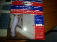 STAY SAFE CAST & BANDAGE PROTECTOR - NEW IN BOX