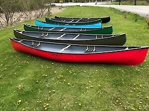 Scott Fiberglass Echo Canoes: 14' and 16' in stock on Sale!