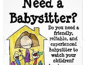 weekend babysitter available
