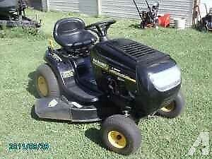 Looking for lawn tractor with cutting deck