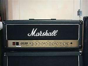Marshall JCM 2000's,  JCM 800'S, JMP 'S and SILVER JUBILEE'S