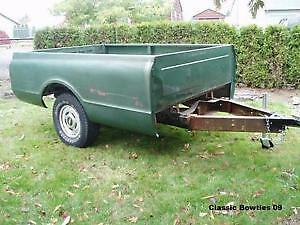 CHEVY S15 UTILITY TRAILER.....****$200****1,7/8,BALL HITCH****
