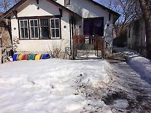 2+1 house 1007 Cameron st fenced with appliances Oct 1st