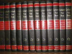 1960/61 Collier Encyclopedias