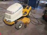 cub cadet 3225 with mower and snow blower