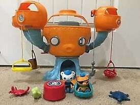 Octopod and figurines
