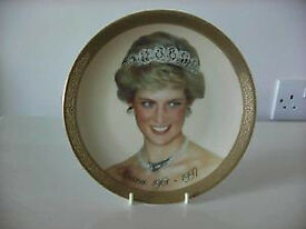 Diana, Prince of Wales fine porcelain collectors plate