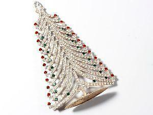 vintage crystal christmas tree - Crystal Christmas Tree