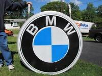 BMW or BOSCH Signs, Banners, etc WANTED