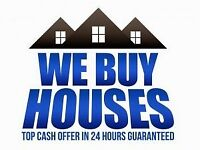 WE BUY PROPERTIES FOR CASH - RESPONSE WITHIN 24 HOURS - 7 DAY COMPLETION