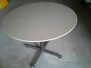 Grey Round Table