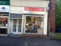 Sandwich/Coffee Shop avai for rent in the location of Gardenside Avenue in Carmyle Avail 9th Nov 16