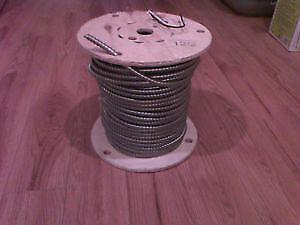 75m de fil  BX AC90 câble électrique 12/2 armored Neuf