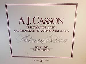 A.J. Casson Platinum Edition Folio One & Two **** NEW PRICE****