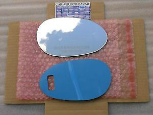 542RC  05-06 SMART FORTWO FOR TWO Mirror Glass Passenger Side RH