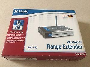 Wireless G Range Extender DWL-G710