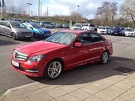 2014 Mecredes c class c200 CDI amg sport 7G tronic automatic.
