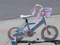 Rarely Used Girls' 14 inch Bicycle