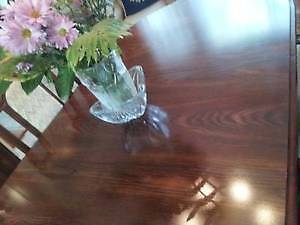 Beautiful Wooden Dining Table & 6 chairs, Excellent like NEW! West Island Greater Montréal image 4