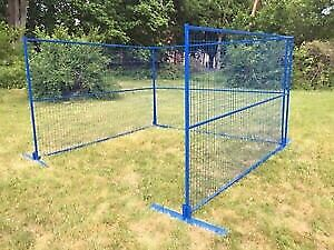 All NEW Temporary Fence for sale