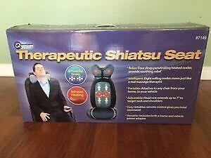 Therapeutic shiatsu seat