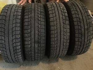 4 P175 70R13 TOYO M&S TIRES MOUNTED ON4 BOLT IMPORT RIMS