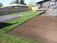 ABsodding - 403 383 6888  SOD Fence and Deck