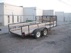 ramp etc selling 2 other trailers pics below  trades offers London Ontario image 5