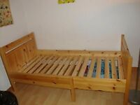 Ikea Trofast Childs Bed with mattress in excellent condition