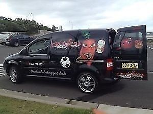 MOBILE DRINKS VAN - CRUSHES PLUS Allambie Heights Manly Area Preview
