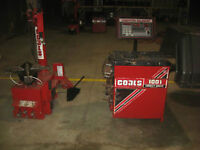 Coats 5030E tire changer & Coats 1001 with extra adapters