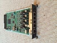 panasonic kx-ncp1170 4 port hybrid card -dhlc4