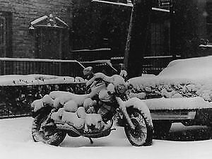Motorcycle Winter Storage Cold