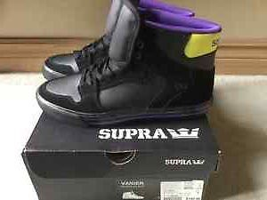 BRAND NEW IN BOX - HALF PRICE - SUPRA VAIDER - SIZE 9