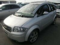 AUDI A2 SILVER METALIC GREY 1.4 SE 5 DOOR 3 OWNERS FROM NEW LONG MOT £130 TAX 47,000 on clock