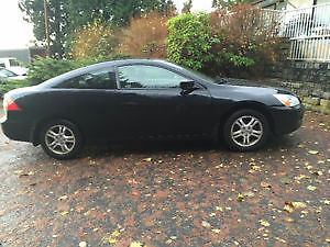 2007 Honda Accord SE Coupe - BLACK (2 door)