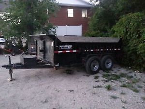 Dump trailer rentals ***Special Roofer Rates***