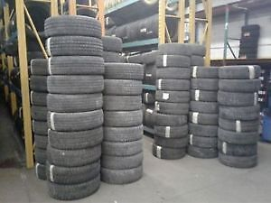 SALE!!! USED ALL SEASON TIRES, FREE INSTALLATION & BALANCE