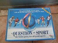 BBC QUESTION OF SPORT BOARD GAME BNIB 1991 edition