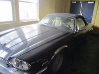 1990 Jaguar XJS chrome Convertible