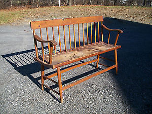 In search of vintage deacon's bench